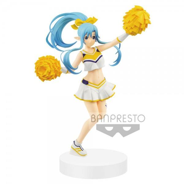 Sword Art Online - Asuna Undine Figur / EXQ - Cheerleader: Banpresto