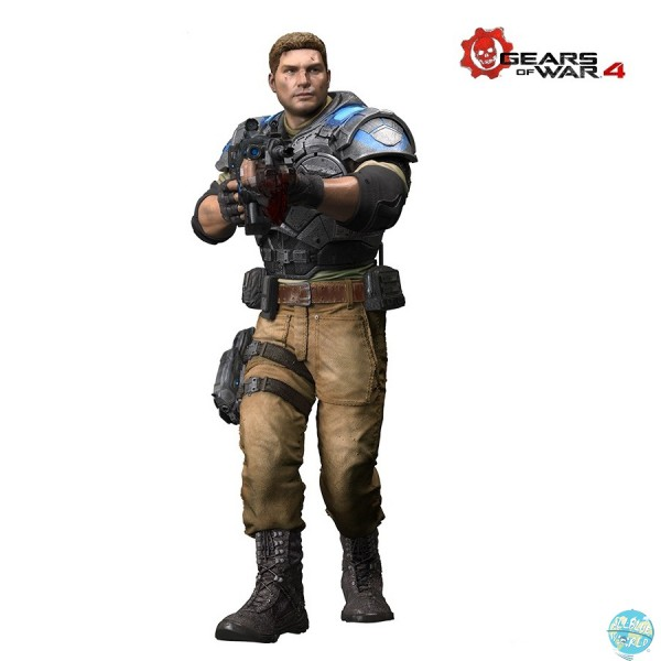 Gears of War 4 - JD Fenix Actionfigur - Color Tops: McFarlane Toys
