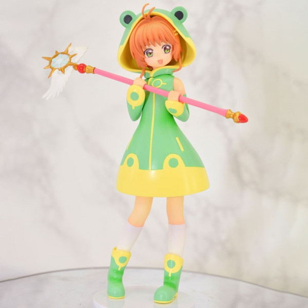 Card Captor Sakura - Sakura Kinomoto Figur / Cute Frog Version: FuRyu