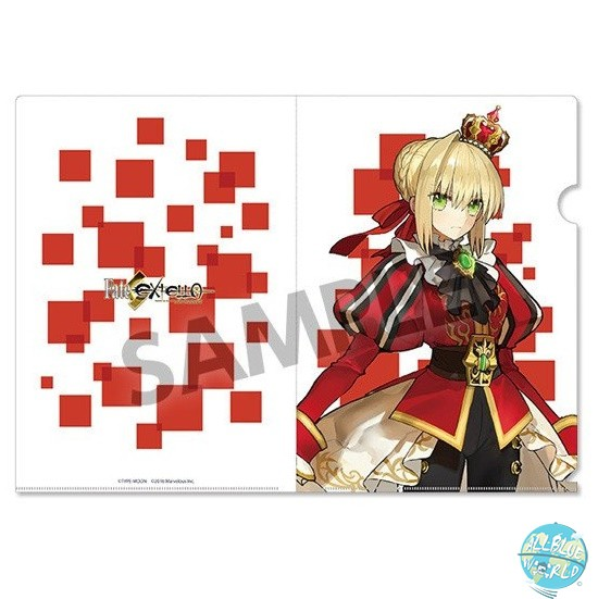 Fate/Extella - Mappe A4 Transparent - Nero Claudius: Hobby Stock
