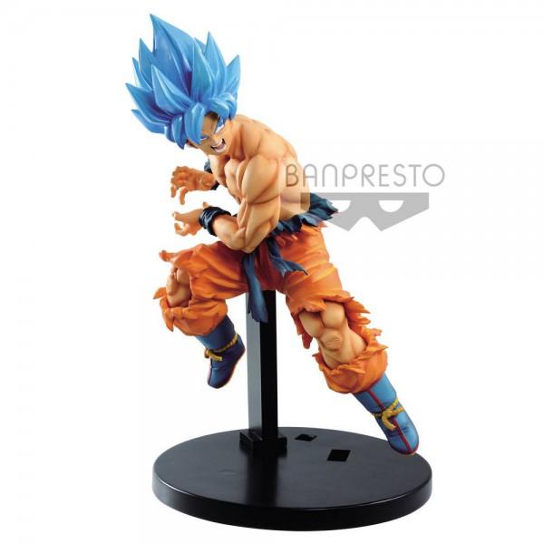 Dragon Ball - SSGSS Son Goku Figur / Tag Fighters: Banpresto