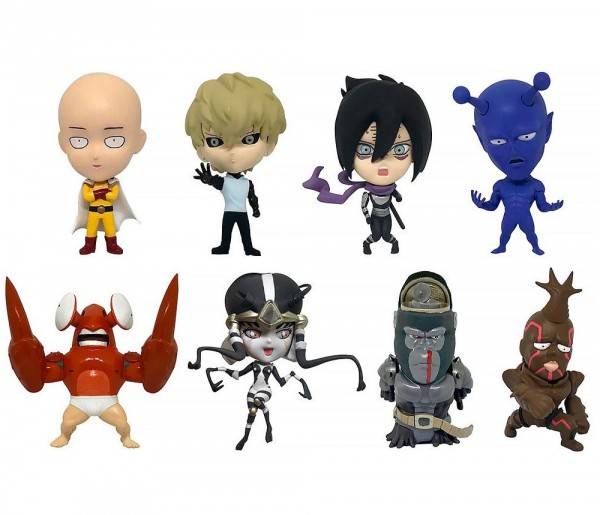 One Punch Man - Minifiguren 8er-Pack / Vol.1: 16 directions