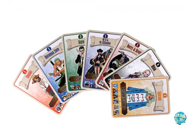 One Piece Kartenspiel - Jeu de 7 Familles