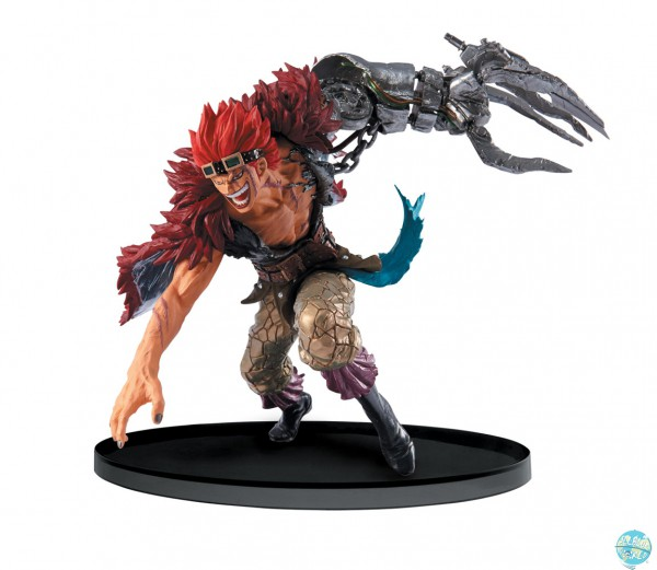 One Piece Eustass Kid Figur - SCultures Big Zoukeio 4: Banpresto