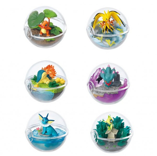 Pokemon - 1x Terrarium Figur / Blindbox: Re-Ment
