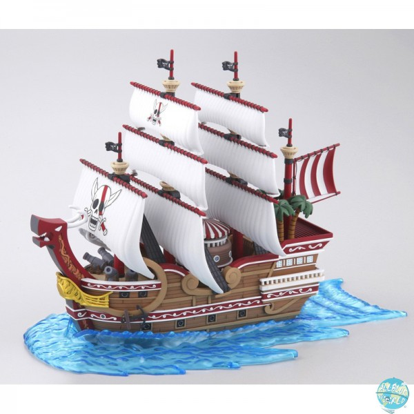 One Piece - Red Force Modell-Kit - Grand Ship Collection: Bandai