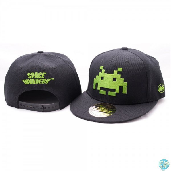 Space Invaders - Baseball Cap - Green Logo: CODI