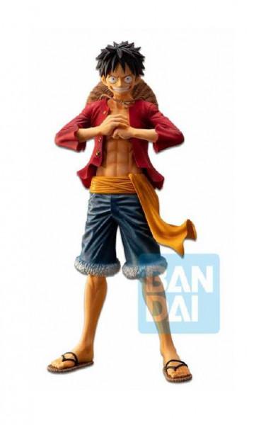 One Piece - Ruffy Figur / Ichibansho - The Bonds of Brothers: Bandai Ichibansho