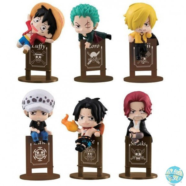 One Piece - Minifiguren-Set - Ochatomo Serie / Pirates Party: MegaHouse