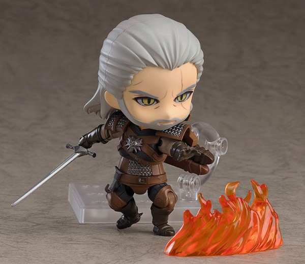 The Witcher 3 Wild Hunt - Geralt Nendoroid / Heo Excklusive: Good Smile Company
