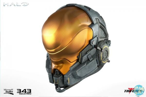 Halo 5 Spartan Kelly-087 Helm Replika: Triforce