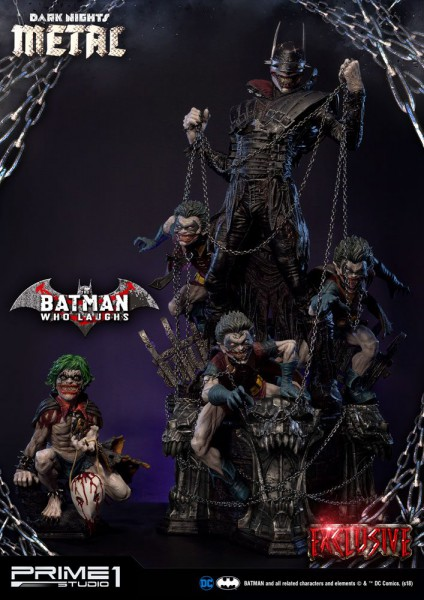 Dark Nights: Metal - Batman Who Laughs Statue / Exclusive Version: Prime 1 Studio
