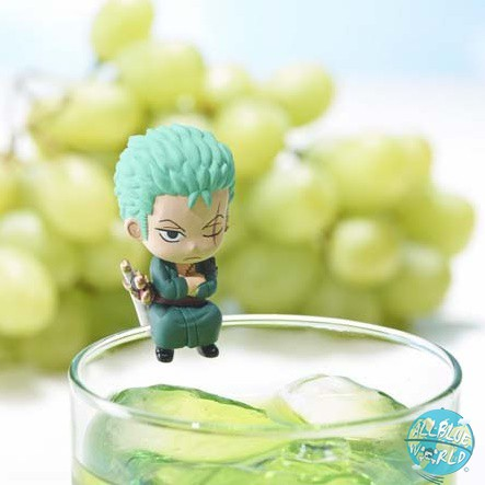 One Piece Zorro MegaHouse Ochatomo Serie Teatime of Pirates 4 cm