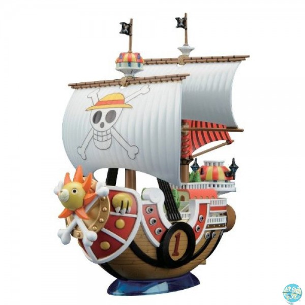 One Piece - Thousand Sunny Modell-Kit - Grand Ship Collection: Bandai
