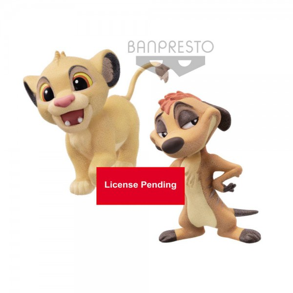 Disney - Simba & Timon Figur - Set: Banpresto
