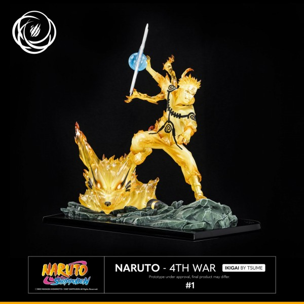 Naruto Shippuuden - Naruto Uzumaki Statue / Ikigai - 4th War: Tsume