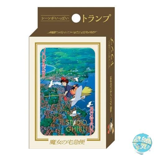 Studio Ghibli - Spielkarten - Kikis kleiner Lieferservice: Benelic