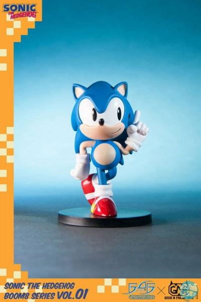 Sonic The Hedgehog - Sonic Figur / BOOM8 Series Vol. 01: First 4 Figures