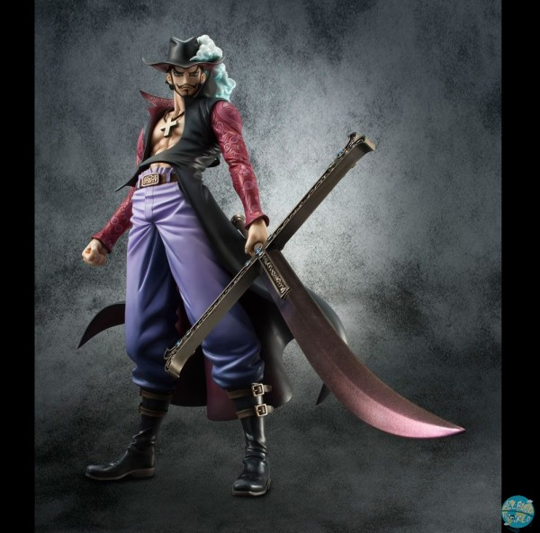 One Piece - Mihawk Statue - Excellent Model P.O.P / Neo-DX Version 2: MegaHouse