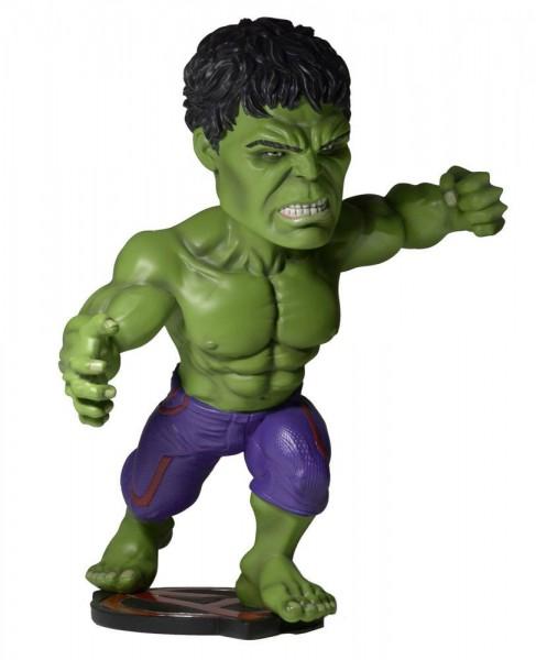 Avengers AOU - Hulk Wackelkopf-Figur - Head Knocker: NECA