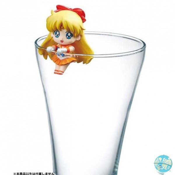 Sailor Moon - Sailor Venus Sammelfigur - Pretty Soldier Ochatomo Series / Moon Prism Cafe: MegaHouse