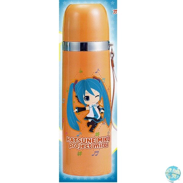 Hatsune Miku Project mirai - Theromoskanne - Farbe: Orange: Sega