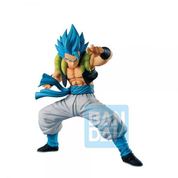 Dragon Ball Super - SSGSS Gogeta Figur / Ichibansho: Bandai