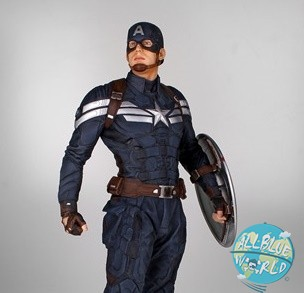 Captain America 2 The Return of the First Avenger - Captain America Statue: Gentle Giant