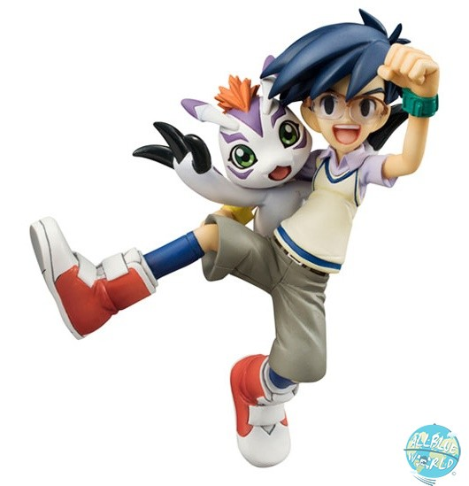 Digimon Adventure - Joe & Gomamon Statue - G.E.M. Serie: MegaHouse