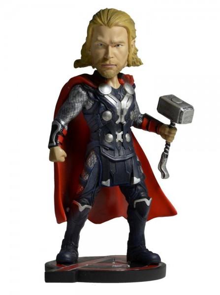 Avengers AOU - Thor Wackelkopf-Figur - Head Knocker: NECA