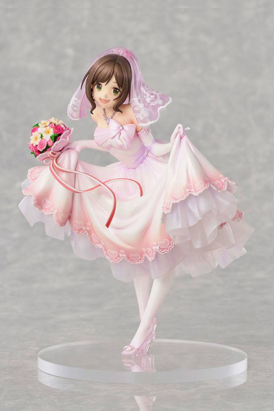 The Idolmaster Cinderaella Girls - Miku Maekawa Statue /Dreaming Bride Version Limited: Knead