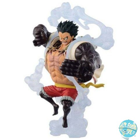 One Piece - Ruffy Figur - King Of Artist / Bounceman Version: Banpresto