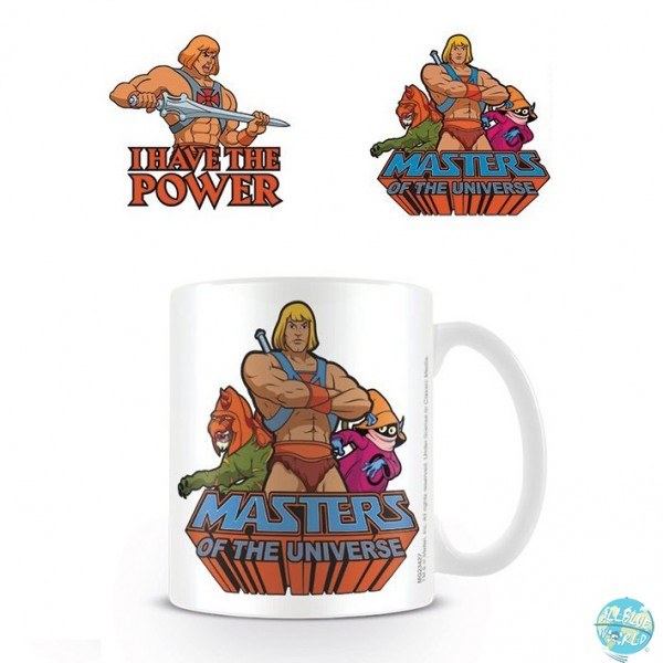 Masters of the Universe - He-Man Tasse - Have The Power: Pyramid