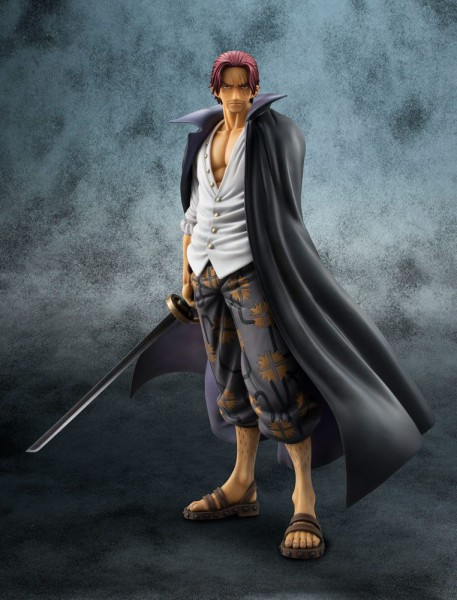 One Piece - Shanks Statue - Excellent Model P.O.P / Neo-DX (Neuauflage): MegaHouse