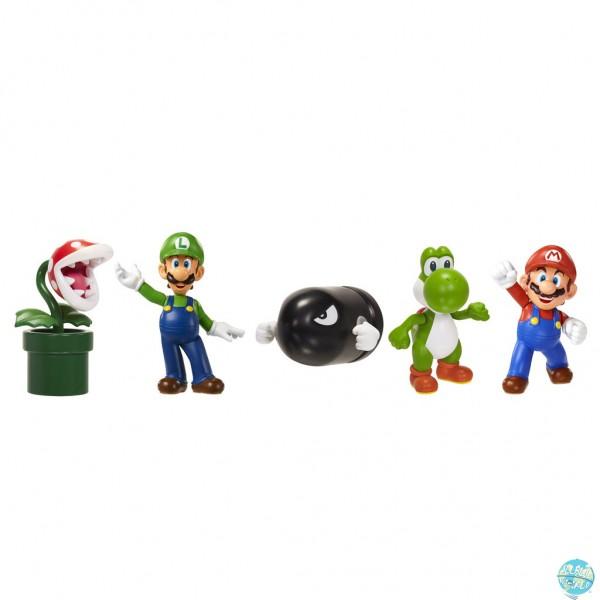 Nintendo Mini Figuren Set im 5er Pack: Jakks Pacific