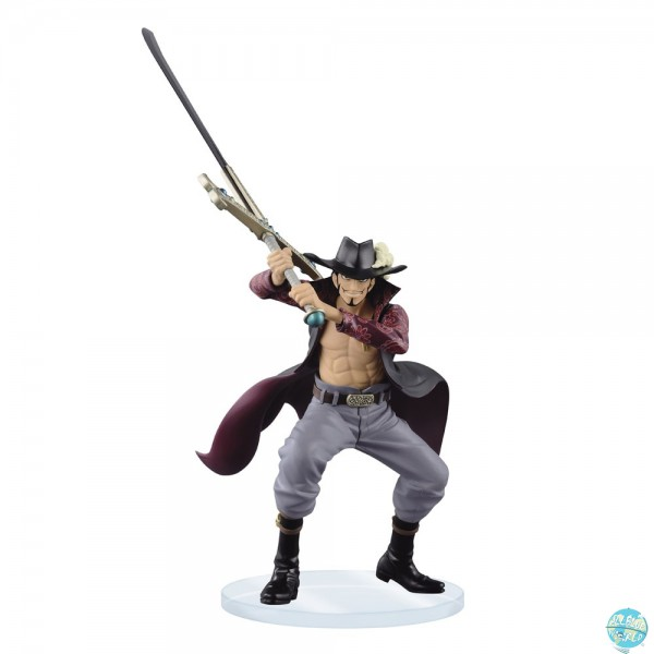 One Piece - Dracule Mihawk Figur - Dramatic Showcase: Banpresto