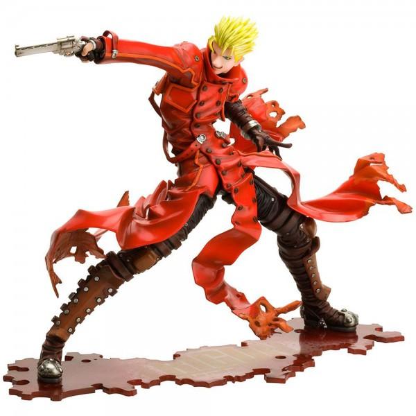 Trigun Badlands Rumble - Vash The Stampede Statue / ARTFXJ - Renewal Package Version: Kotobukiya