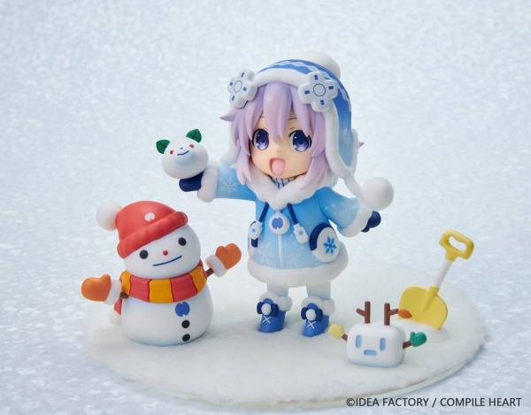 Hyperdimension Neptunia - Neptunia Statue / Dekachiccha! Snow Nep - Fuwafuwa Version: Vertex