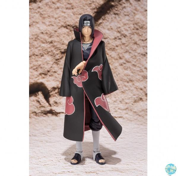 Naruto Shippuuden - Itachi Uchiha Actionfigur - S.H.Figuarts / Web EX: Bandai