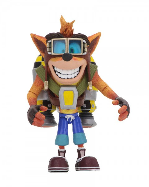 Crash Bandicoot - Crash mit Jetpack Actionfigur / Deluxe: NECA