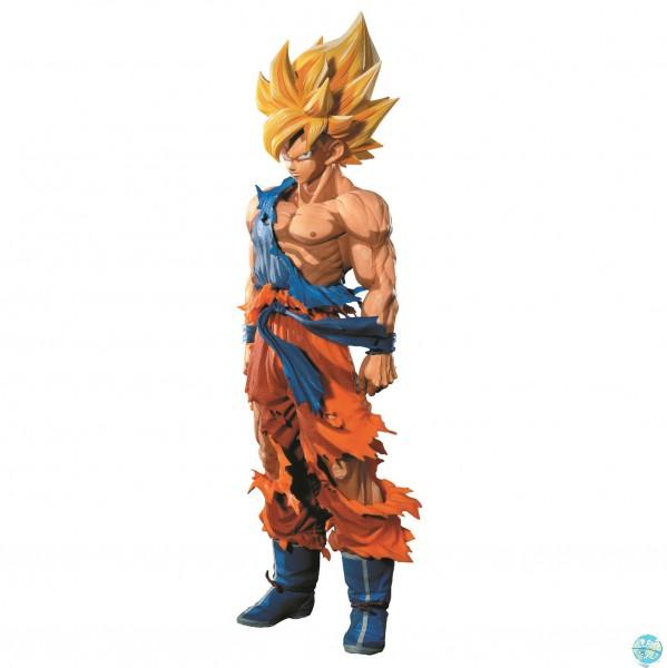 Dragonball Z - SSJ Son Goku Figur - Master Stars Piece / Manga Dimensions: Banpresto