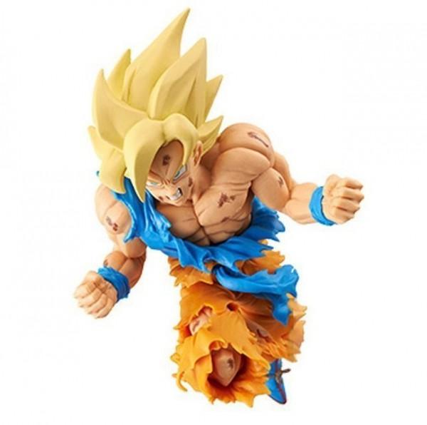 Dragonball - SSJ Son Goku Figur / 50th Anniversary - Weekly Shonen Jump: Banpresto