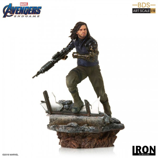Avengers: Endgame - Winter Soldier Statue / BDS Art: Iron Studios