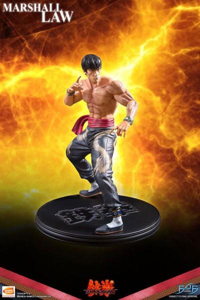 Tekken 3 - Marshall Law a Statue: First 4 Figures