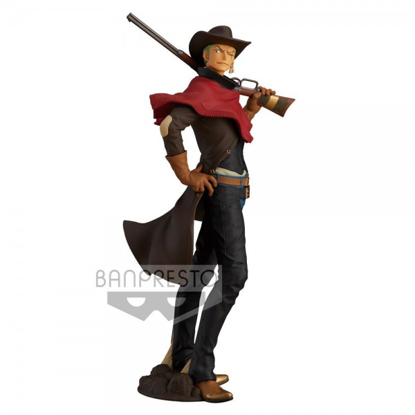 One Piece - Lorenor Zorro Figur / Treasure Cruise World Journey: Banpresto