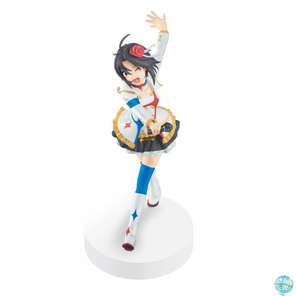 The Idolmaster Banpresto Cinderella Girls SQ Figur Makoto Kikuchi Movie Outfit 18cm