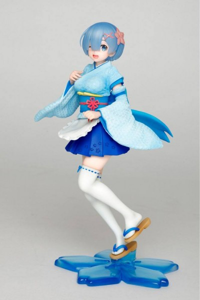Re:Zero Starting Life in Another World - Rem Figur / Kimono Maid Version: Taito