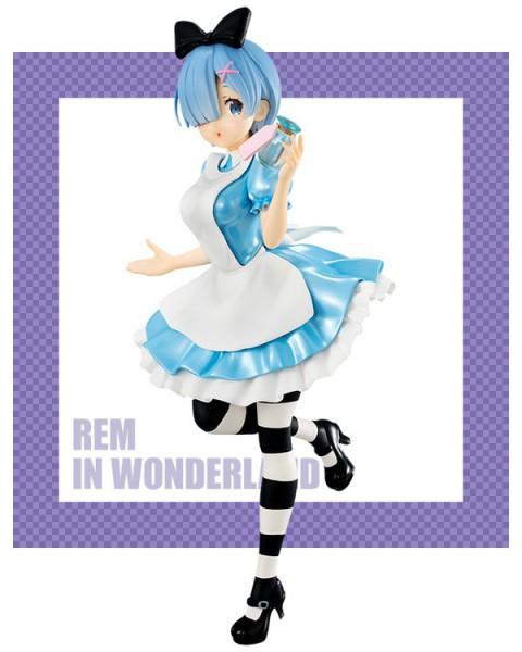 Re:Zero - Rem Figur / SSS In Wonderland: Furyu