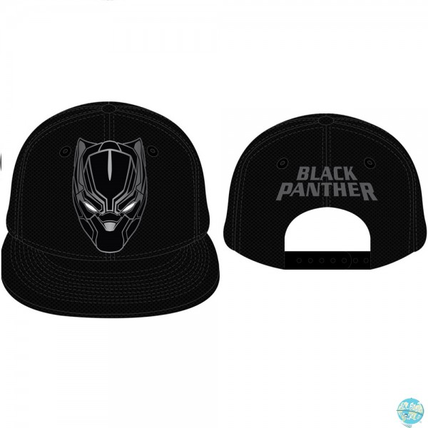 Captain America Civil War - Black Panther Baseball Cap: CODI