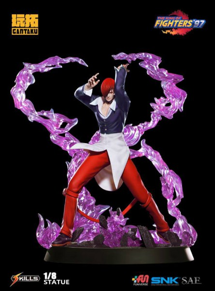 The King of Fighters 97 - Iori Yagami Statue: Gantaku